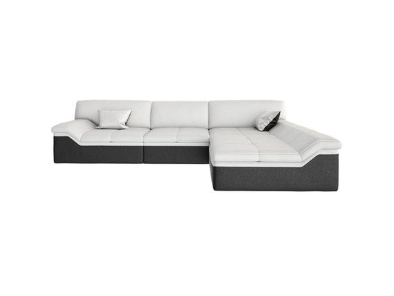 ecksofa barari l wei ottomane rechts. Black Bedroom Furniture Sets. Home Design Ideas