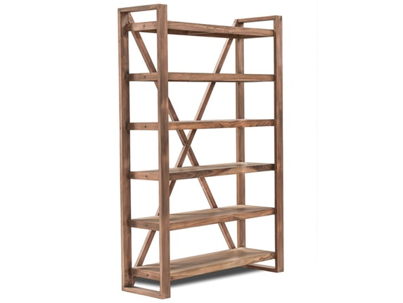 regal akkon mit 5 f chern kupfer 125 cm sit m bel. Black Bedroom Furniture Sets. Home Design Ideas