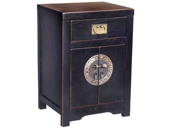 schrank peking klein 2 t ren ming dynastie schwarz sit m bel. Black Bedroom Furniture Sets. Home Design Ideas