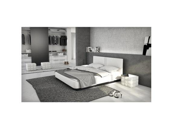 polsterbett zarina 180x200cm led und lautsprecher mit. Black Bedroom Furniture Sets. Home Design Ideas