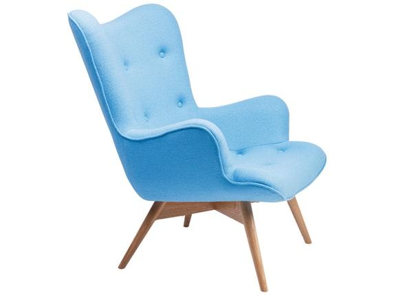 Design Sessel 13132 kare design sessel wings mit armlehnen blau textil jpg