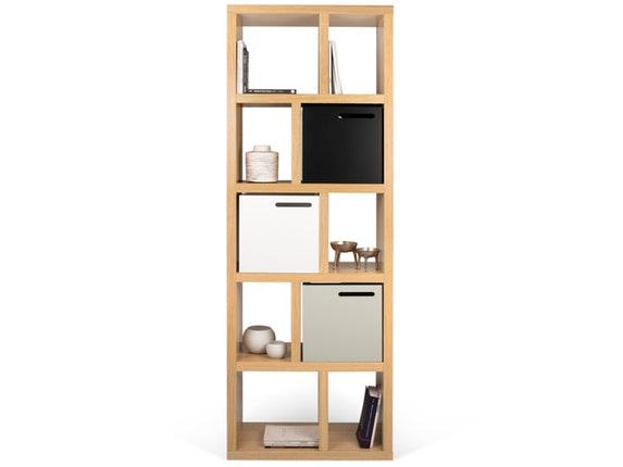 regal raumteiler berlin 5 levels 70 eiche temahome. Black Bedroom Furniture Sets. Home Design Ideas
