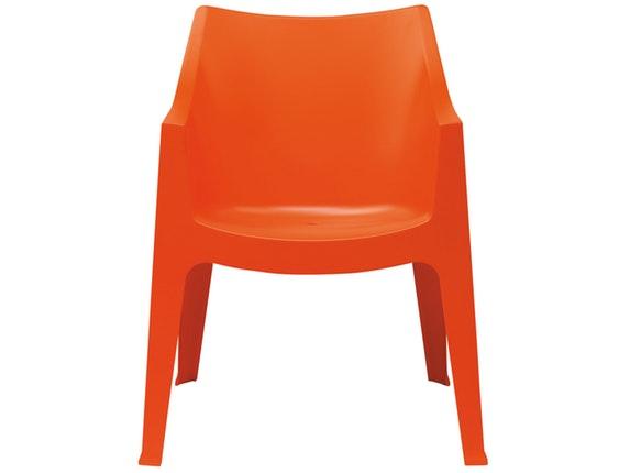 Gartenstuhl design  Gartenstuhl Coccolona mit Armlehnen orange » Scab Design – Salesfever.de