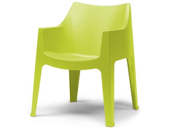 gartenstuhl coccolona mit armlehnen hellgr n. Black Bedroom Furniture Sets. Home Design Ideas