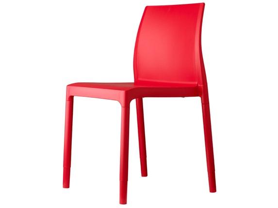 Designer stuhl chloe trend rot for Design stuhl rot