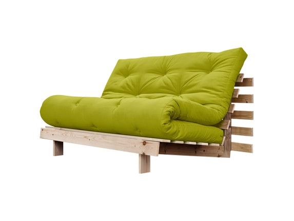 schlafsofa roots raw 140 cm gr n karup. Black Bedroom Furniture Sets. Home Design Ideas
