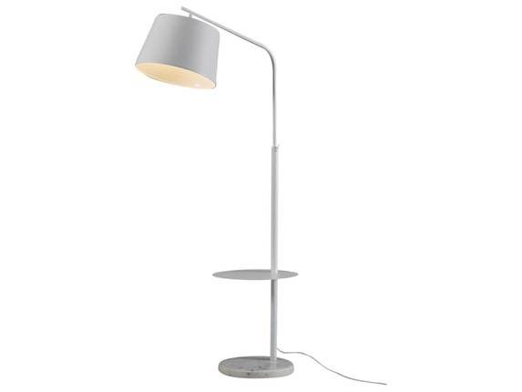 stehlampe latus mit tisch wei salesfever. Black Bedroom Furniture Sets. Home Design Ideas