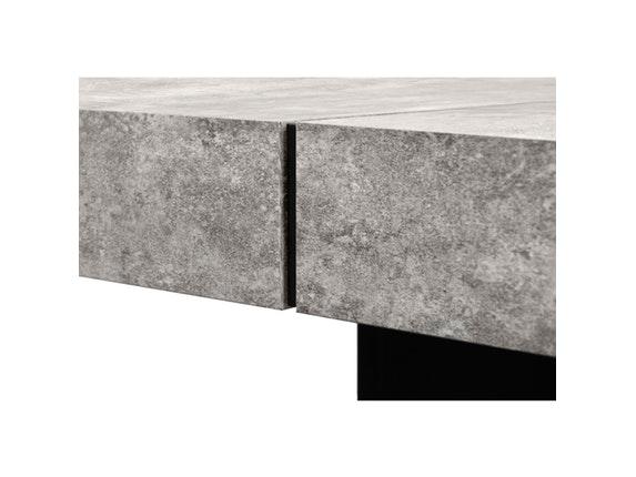Esstisch Betonoptik esstisch dusk 130 betonoptik schwarz temahome salesfever de
