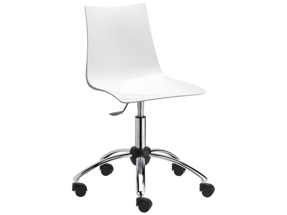 Design Schreibtischstuhl schreibtischstuhl zebra office antishock weiß scab design