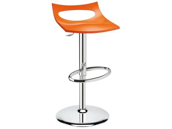 Barhocker Orange barhocker diavoletto höhenverstellbar orange scab design