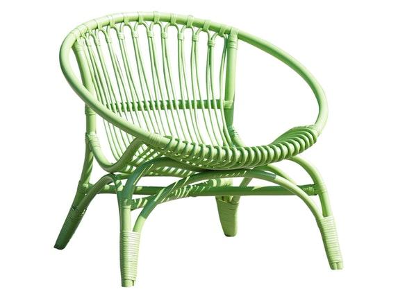 relaxsessel rattan rund gr n sit m bel. Black Bedroom Furniture Sets. Home Design Ideas