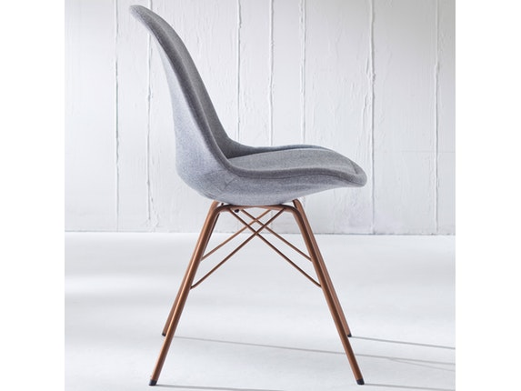 designer stuhl porgy donna beine kupfer 2er set grau msp furniture. Black Bedroom Furniture Sets. Home Design Ideas