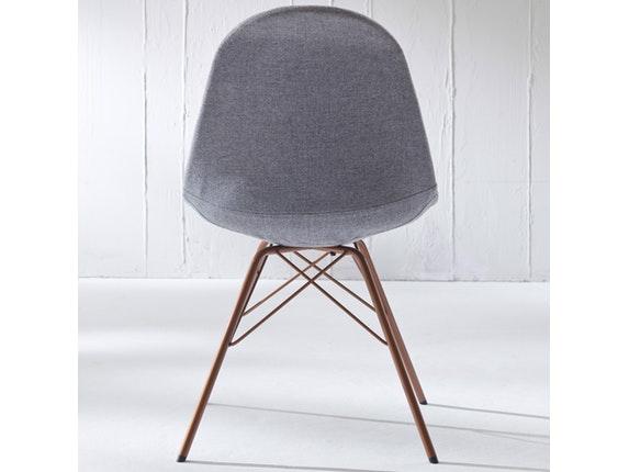 Designer stuhl porgy donna beine kupfer 2er set grau msp for Stuhl 4 beine