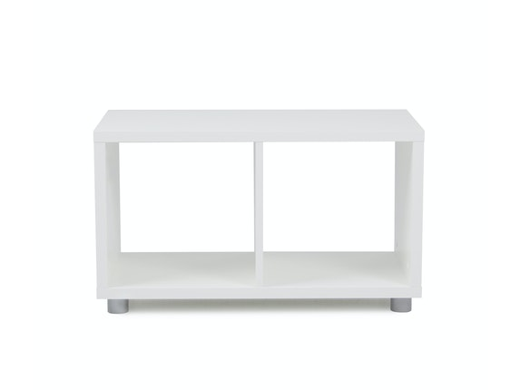 msp furniture Regal Box Cube 1x2 weiß Melamin n-8780-6587 - 2