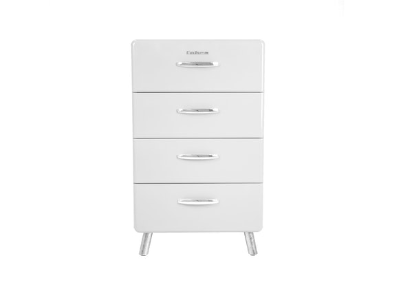 msp furniture Kommode weiß Cobra 56 mit 4 Schubladen n-8791-6647 - 2