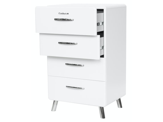msp furniture Kommode weiß Cobra 56 mit 4 Schubladen n-8791-6647 - 3