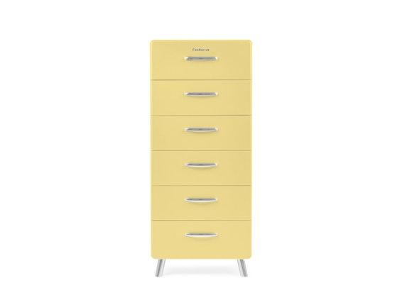 Kommode Cobra Mit 6 Schubladen Hellgelb Msp Furniture Salesfever De