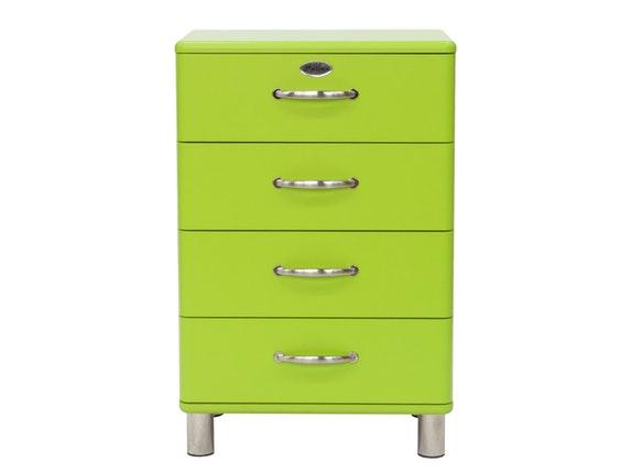Kommode Malibu 60 Mit 4 Schubladen Hellgrun Msp Furniture