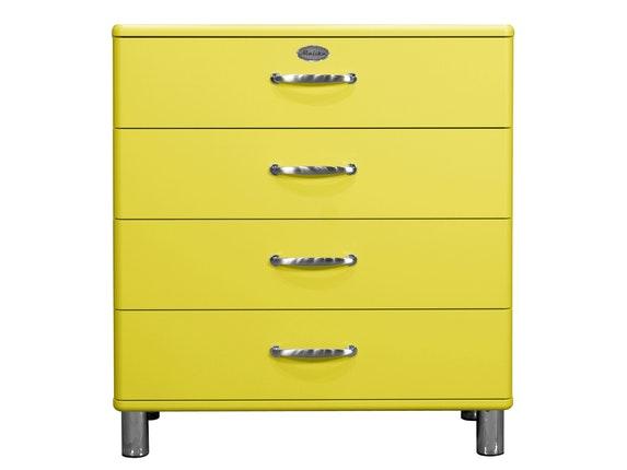 Kommode Malibu 86 Mit 4 Schubladen Gelb Msp Furniture Salesfever De