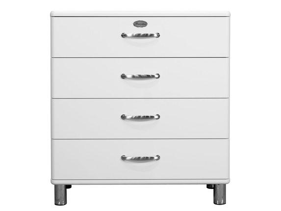 Kommode Malibu 86 Mit 4 Schubladen Weiss Msp Furniture Salesfever De