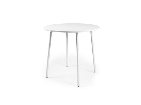esstisch lolly rund 90 cm wei msp furniture. Black Bedroom Furniture Sets. Home Design Ideas