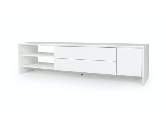 msp furniture TV weiß Board Profil 180 mit 2 Schubladen n-8890-6976 - 1