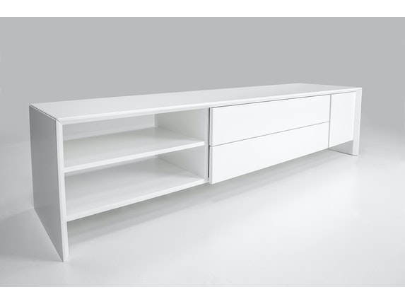 msp furniture TV weiß Board Profil 180 mit 2 Schubladen n-8890-6976 - 4