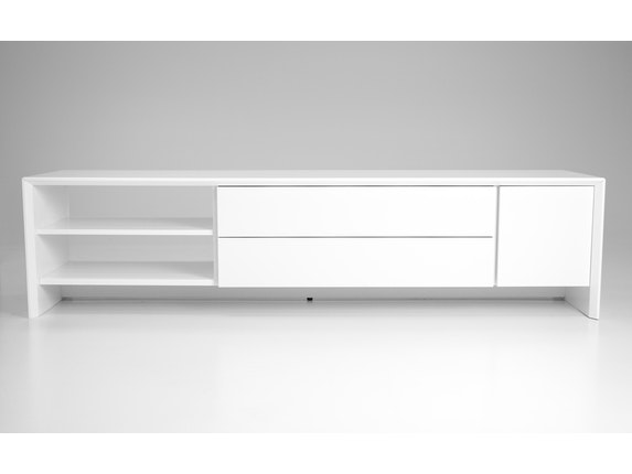 msp furniture TV weiß Board Profil 180 mit 2 Schubladen n-8890-6976 - 5