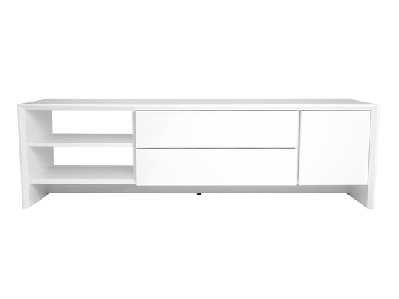 msp furniture TV weiß Board Profil 150 mit 2 Schubladen n-8891-6978 - 1