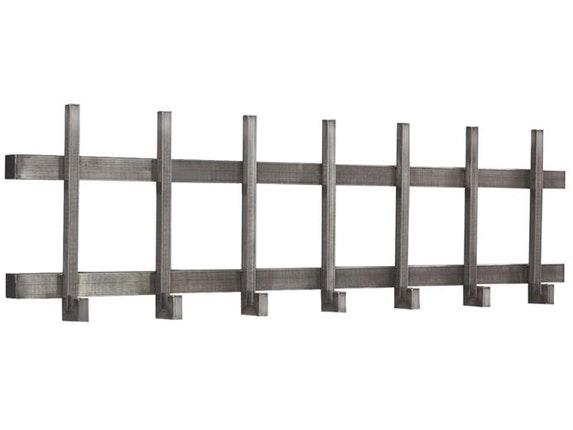 Garderobenleiste lya mit haken gitter edelstahl 120 cm for Garderobenleiste modern