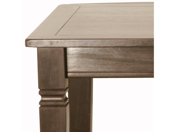 esstisch cabana pappel massivholz 140x85 cm kare design. Black Bedroom Furniture Sets. Home Design Ideas