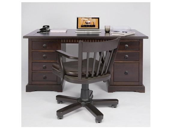 schreibtisch cabana pappel massivholz kare design. Black Bedroom Furniture Sets. Home Design Ideas