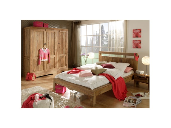 bett mit 2 nachtschr nken 160x200cm. Black Bedroom Furniture Sets. Home Design Ideas