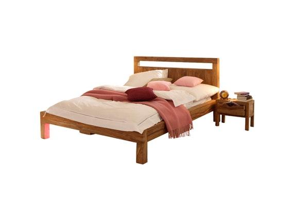 bett yoga mit 2 nachtschr nken 180x200 cm wolf m bel. Black Bedroom Furniture Sets. Home Design Ideas