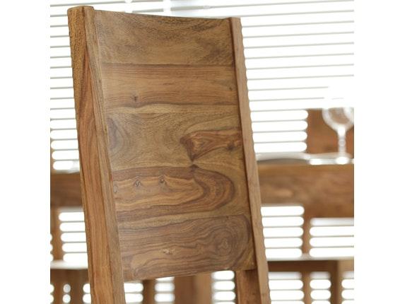 stuhl yoga sheesham massivholz 2er set. Black Bedroom Furniture Sets. Home Design Ideas