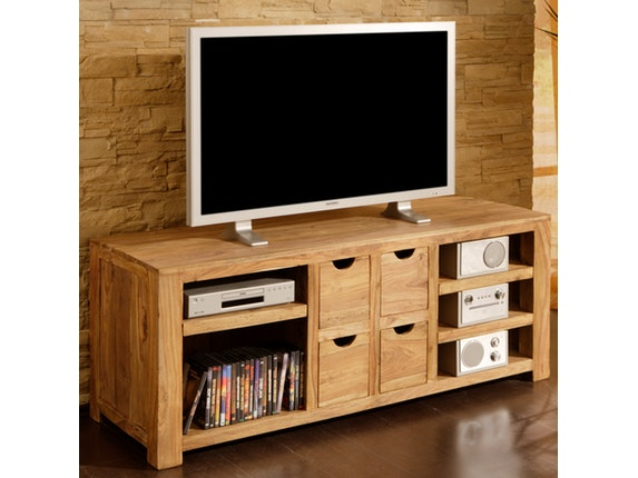 Tv Board Sheesham. Affordable Wolf Mbel Tv Board Yoga Mit Fchern ...