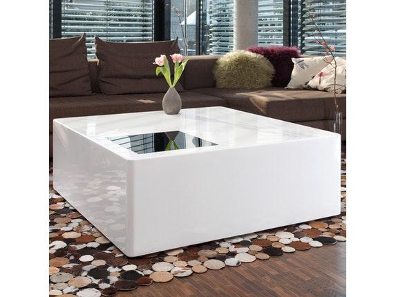 couchtisch bloq 100x100 cm salesfever. Black Bedroom Furniture Sets. Home Design Ideas