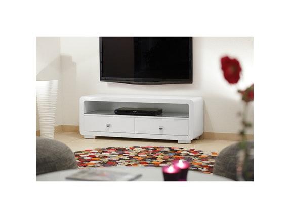 Tv board white club 2 schubladen - Kare design wohnzimmer ...