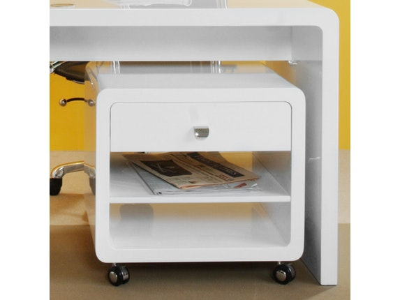 Design Rollcontainer rollcontainer white kare design salesfever de