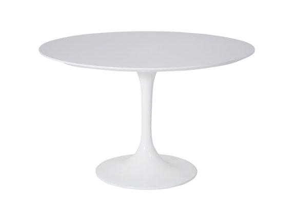 esstisch rund weiß tulpenfuß