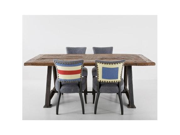 esstisch railway 210x100 cm bahngleise. Black Bedroom Furniture Sets. Home Design Ideas