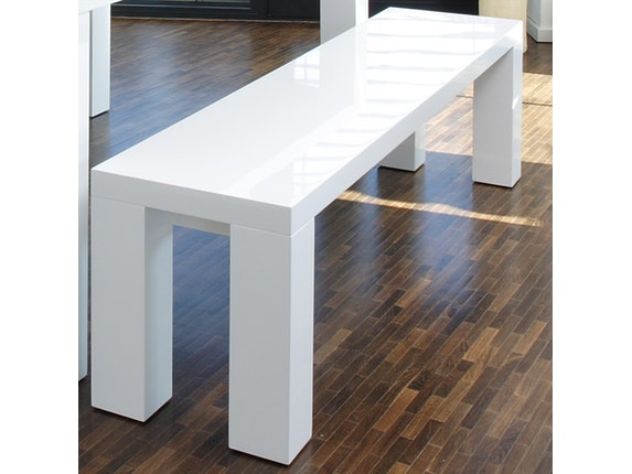 sitzbank luke wei hochglanz 160x35cm. Black Bedroom Furniture Sets. Home Design Ideas