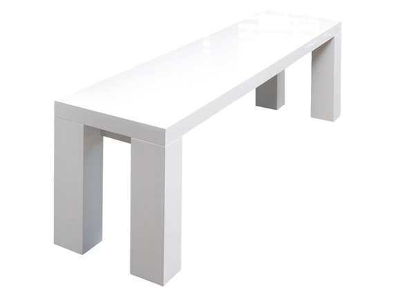 sitzbank luke wei hochglanz 140x35 cm salesfever. Black Bedroom Furniture Sets. Home Design Ideas