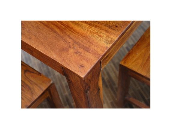 esstisch guru massivholz akazie honig 180x90 cm wolf m bel. Black Bedroom Furniture Sets. Home Design Ideas