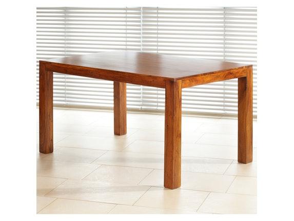 esstisch guru massivholz akazie honig 160x90 cm wolf m bel. Black Bedroom Furniture Sets. Home Design Ideas