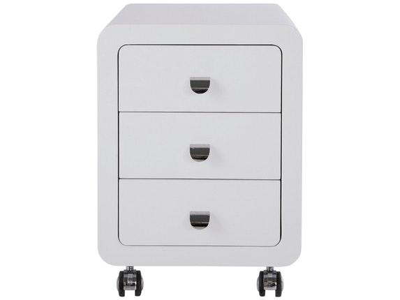Rollcontainer Design rollcontainer white 3 schubladen kare design salesfever de