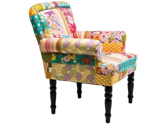 sessel patchwork frame kare design. Black Bedroom Furniture Sets. Home Design Ideas