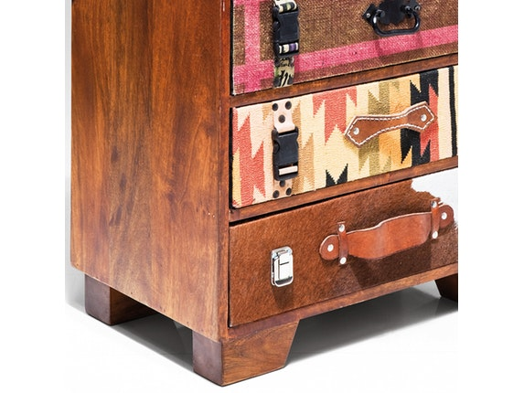kommode indian summer mit 5 schubladen kare design. Black Bedroom Furniture Sets. Home Design Ideas
