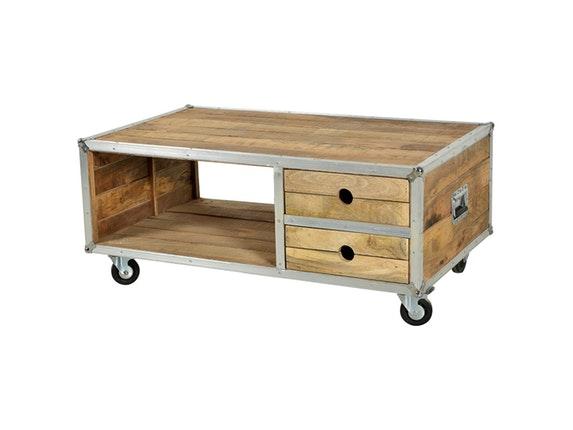 couchtisch rota mit ablage auf rollen sit m bel. Black Bedroom Furniture Sets. Home Design Ideas