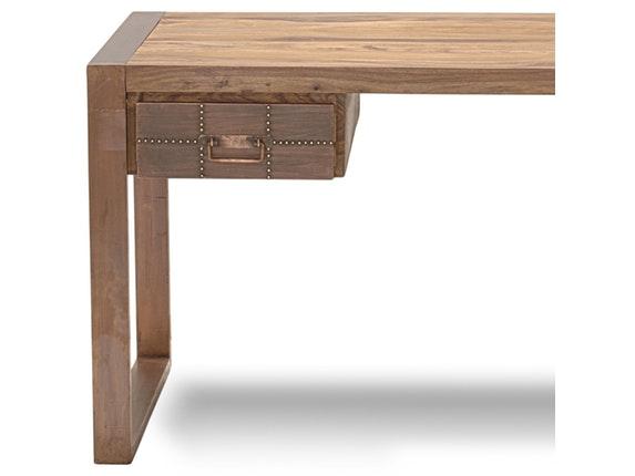 Kupfer Möbel schreibtisch akkon 2 schubladen kupfer sit möbel salesfever de